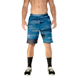 BRO SHORTS - BLUE STRIPES