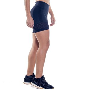 SHORTS HOLLY - OVERCLOCK BLACK
