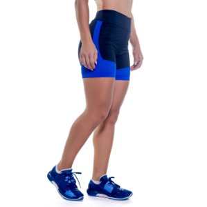 SHORTS HOLLY - OVERCLOCK BLUE