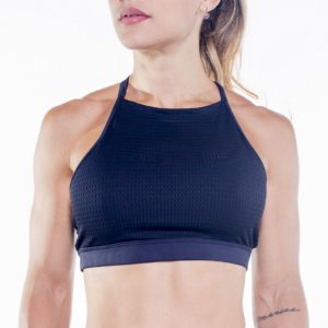 TOP HALTER - OVERCLOCK BLACK