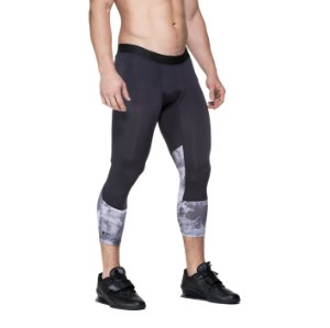 MEN TIGHTS BLACK STONE