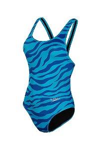 Maio Speedo Zebra Azul Claro