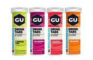 Tabs Drink Gu Energy Pastilha Efervescente Eletrolítico
