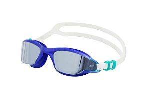Oculos de Natacao Speedo Flow Marinho Fume Espelhado
