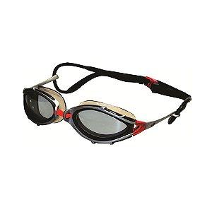 Óculos Conquest Fume Preto Prata Hammerhead