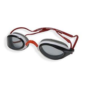 Óculos Aquatech Fume -Branco Prata Vermelho Hammerhead