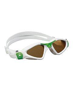 Óculos Kayenne Small Branco Verde -Lente Polarizada