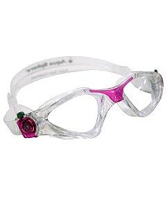 Óculos Lady Transparente Rosa - Lente Transparente