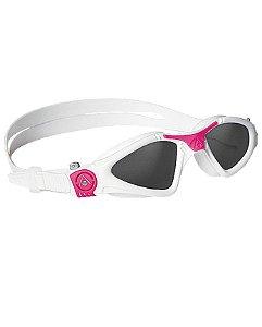 Óculos Kayenne Lady Branco Rosa- Lente Fumê