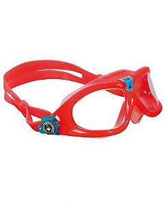 Óculos Seal Kid 2 Rosa Lente Transparente Aqua Sphere Ms162122