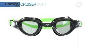 Oculos Arena Cruiser Soft Preto/Verde Lente Fume