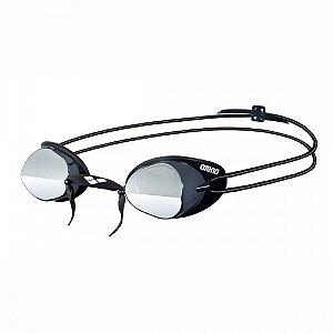 Oculos Arena Swedix Mirror Preto/Cinza Lente Fume Espelhado