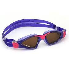 Oculos Aqua Sphere Kayene Rosa Roxo Lente Polarizada