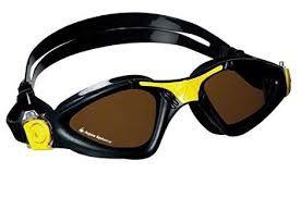 Oculos Aqua Sphere Kayene Preto Amarelo -Lente Polarizada