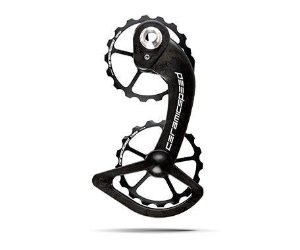 Polia De Cambio Ceramic Speed Oversized Pulley 17 Sh 10+11S (Ult+D.Ace) 607 Blk