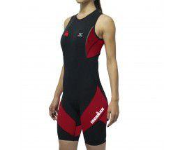 Macaquinho Compressão Triathlon X-Pro Dx3 Feminino Pt-Vm