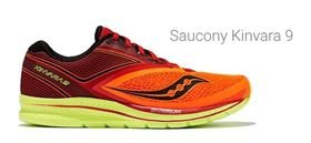Tenis Saucony Kinvara 9 Org/Red/Blk S-20418-1