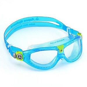 Oculos Seal 2.0 Transp Azul Lente Transp Aqua Sphere Ms159118