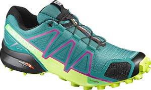 Tenis Speedcross 4 Feminino Az/Lm