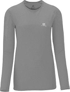 Camiseta Salomon Hybrid Ls Tee W