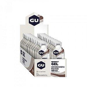 Caixa Gel Carboidrato Gu Energy Agua de coco
