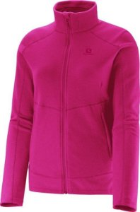 Jaqueta Polar Fleece Salomon Pink