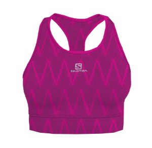 Top Salomon Graphic Salomon Pink