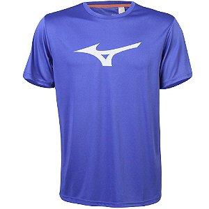 Camiseta Mizuno Run Spark Azul Bic