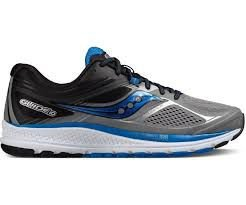Tenis Saucony Guide 10 Gry/Blk/Blu