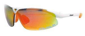 Oculos Eassun X-LIGHT - BRANCO BRILHANTE / LENTE VERMELHA