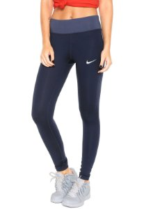 Calça Nike Pwr Essentl Tight Df OBSIDIAN/AZU