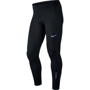 Calça Nike Racer Tght Preto/Prata Refletivo