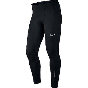 Calça Nike Racer Tght Preto Prata Refletivo