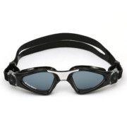 Oculos Aqua Sphere Kayenne Preto Branco lente Fume