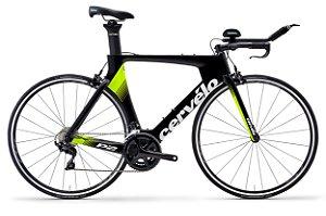 Bicicleta Cervelo P2 Rim 105 Black/Fluoro