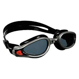 Oculos Aqua Sphere Exo Preto Prata lente Fumê