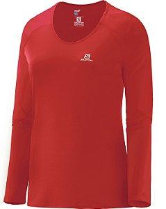 Camiseta Salomon Comet Ls Feminina