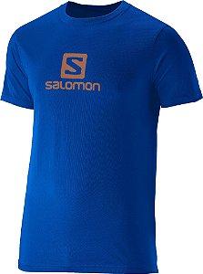 Camiseta Salomon Logo Ss Masculina