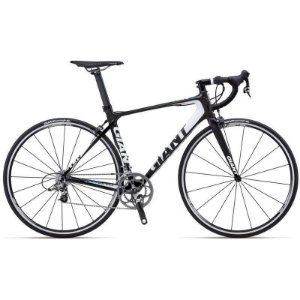Bicicleta Giant 700 TCR Advanced 1 Carbono Branco e Azul Tam 46.5