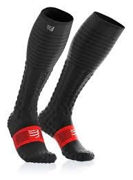 Meia Compressport Full Socks Race e Recovery V3.0