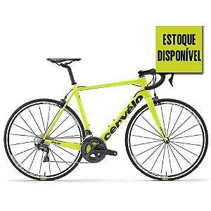 Bicicleta Cervelo R3 Rim Ultegra 8000 Fluoro/Black