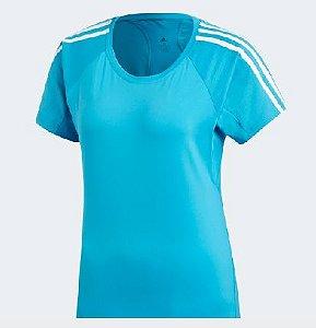 Camiseta Adidas Run 3s Tee