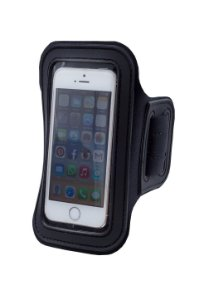 Braçadeira para Celular / iPhone / Galaxy Preta