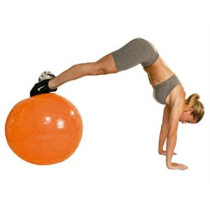 Bola de Pilates Ginastica Gym Ball 45Cm Acte Sports
