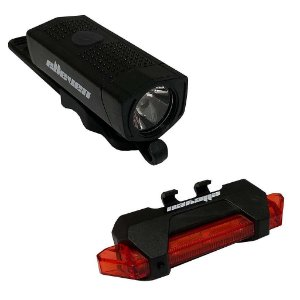 Kit iluminação para Bicicleta Farol + Pisca Elleven Power light