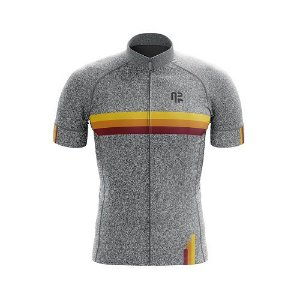 Camisa de ciclismo Ar Sports Silver