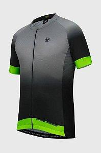 Camisa de  Ciclismo Free Force Sport Ash