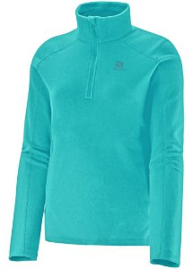 Blusa Salomon Fleece Polar 1/2 Ziper