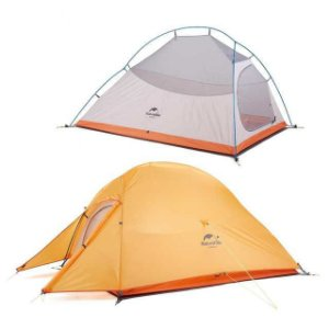 Barraca Naturehike Cloud Up 2X Ultra Laranja (Novo Modelo)