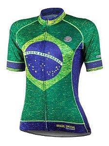 Camisa de Ciclismo Mauro Ribeiro Brasil Special